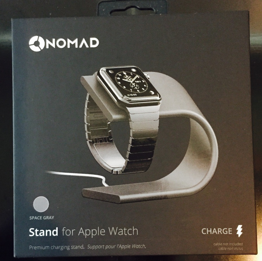 Nomad Apple Watch Stand- TechBreakBlog.com